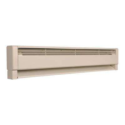 46 in. 1,000-Watt Electric Hydronic Baseboard Heater