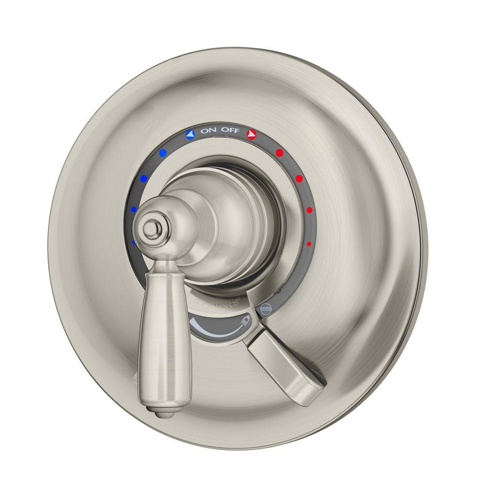 Symmons Allura Shower Valve-S-4700-STN - The Home Depot