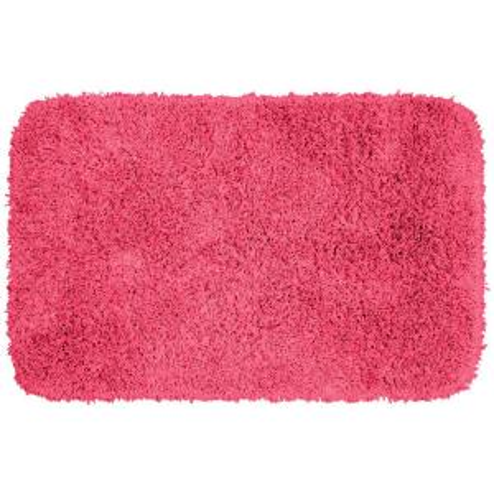 Garland Rug Jazz Pink 24 inch x 40 inch Washable Bathroom Accent Rug by Garland Rug