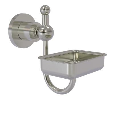 Astor Place Wall Mounted Soap Dish in Satin Nickel
