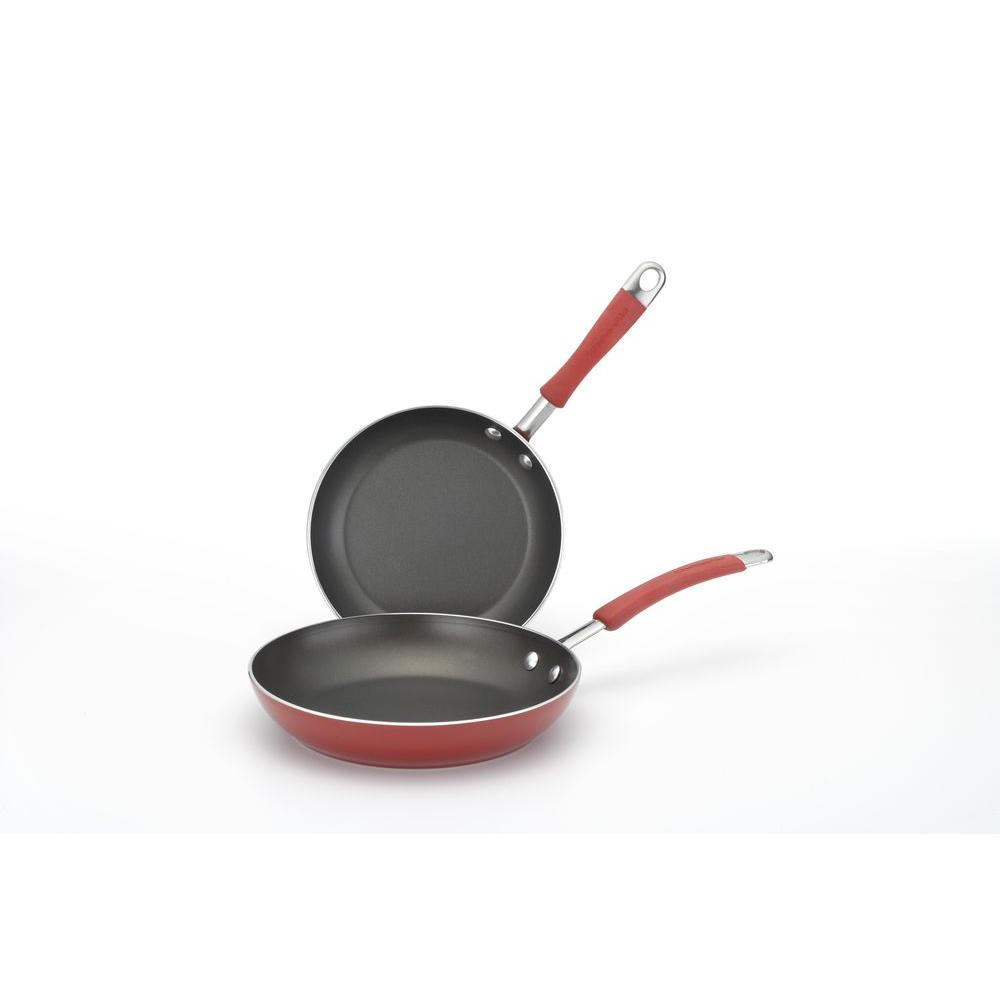 KitchenAid 9 in. and 11-1/2 in. Porcelain Skillet Twin Pack-DISCONTINUED