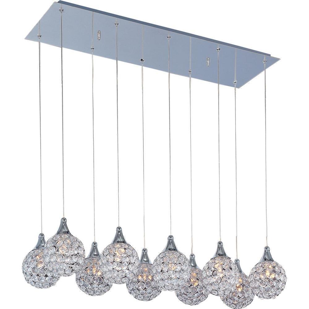 Brilliant 10-Light Pendant