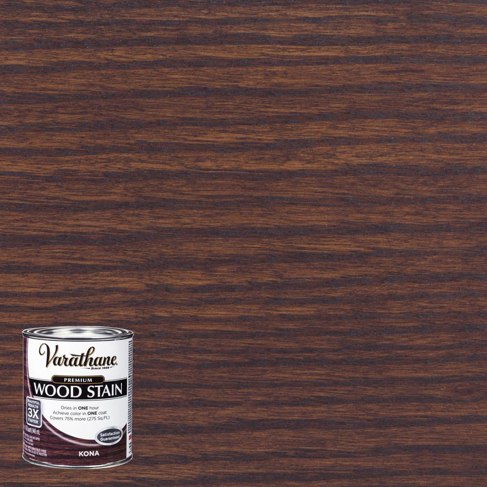 1 qt. Kona Premium Fast Dry Interior Wood Stain (2-Pack)