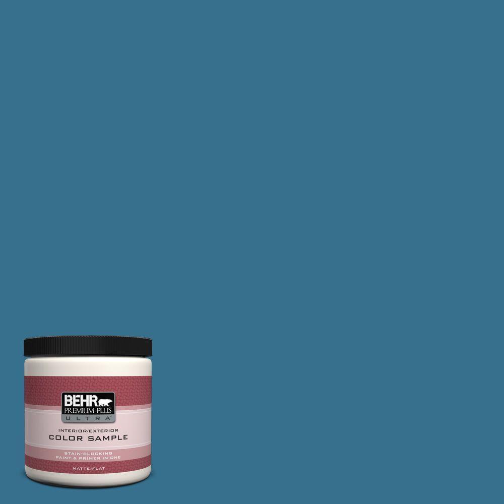 8 oz. #M490-6 Living Stream Interior/Exterior Paint Sample