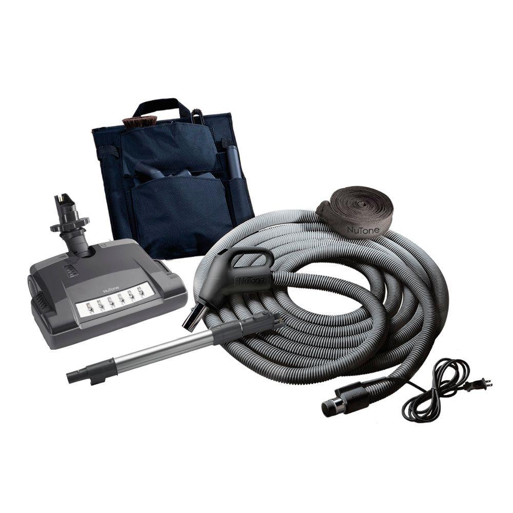 NuTone Central Vacuum System 10-Piece Deluxe Electric Kit