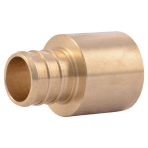 SharkBite 1/2 in  PEX Barb Brass Coupling Fitting (10-Pack