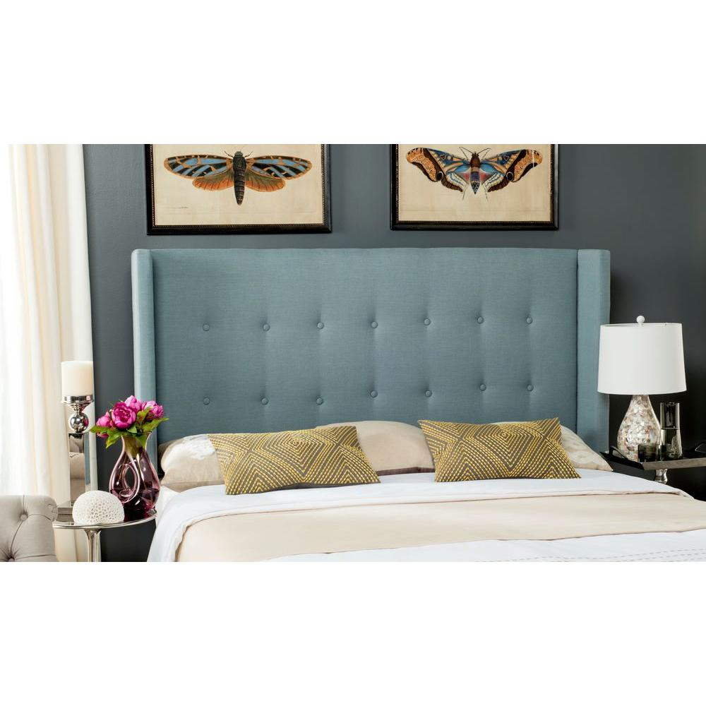 This review is from:Damon Sky Blue Queen Headboard