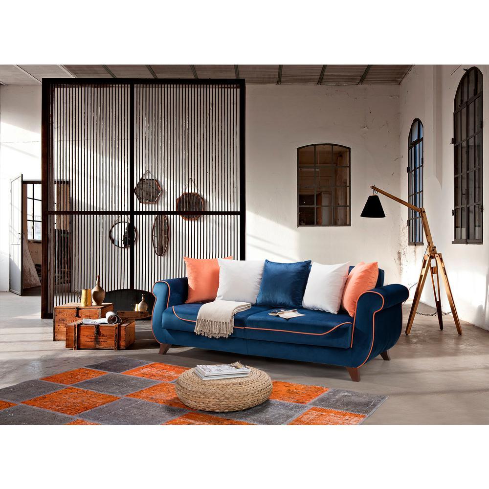 Istanbul Blue Sofa