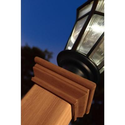 Trinity 74 in. Composite Lamp Post