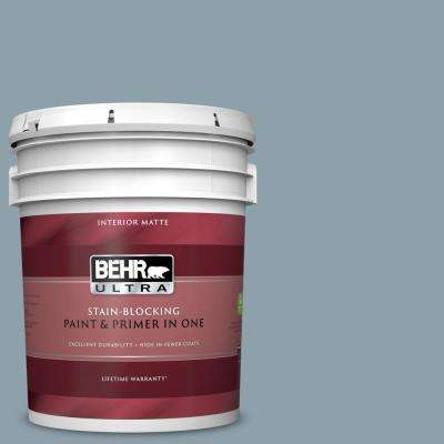 5 gal. #N480-4 French Colony Matte Interior Paint and Primer in One