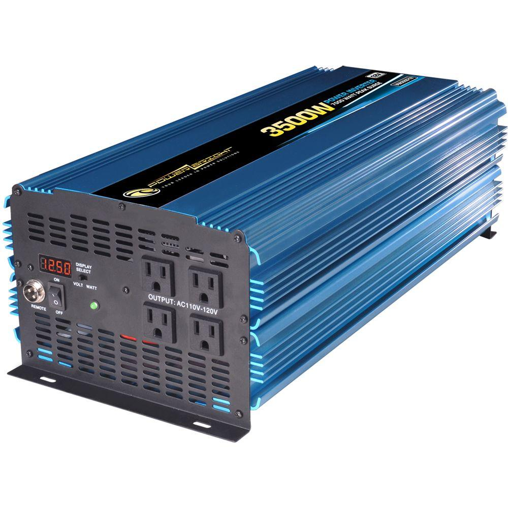 12v Power Inverter >> Power Bright 12 Volt Dc To Ac 3500 Watt Power Inverter Pw3500 12