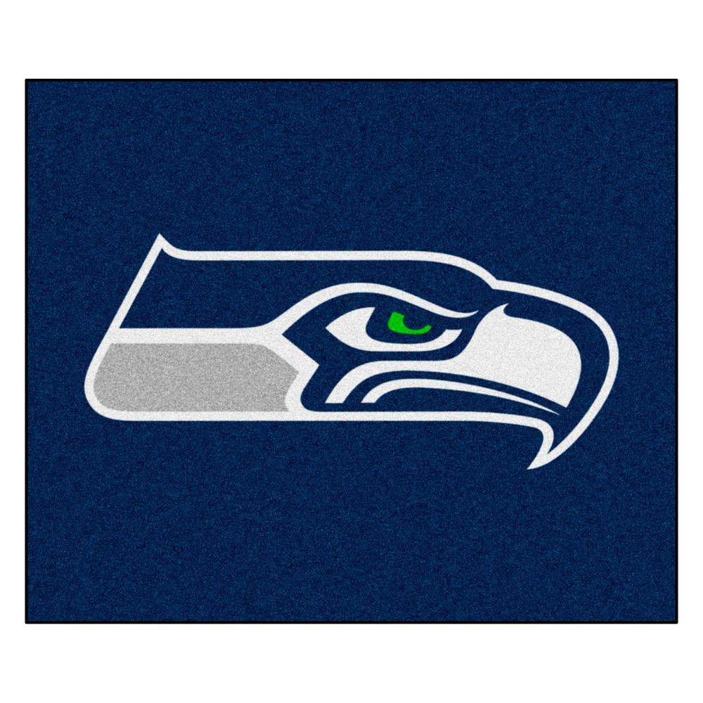 NFL 6 ft. x 5 ft.Seattle Seahawks Rug