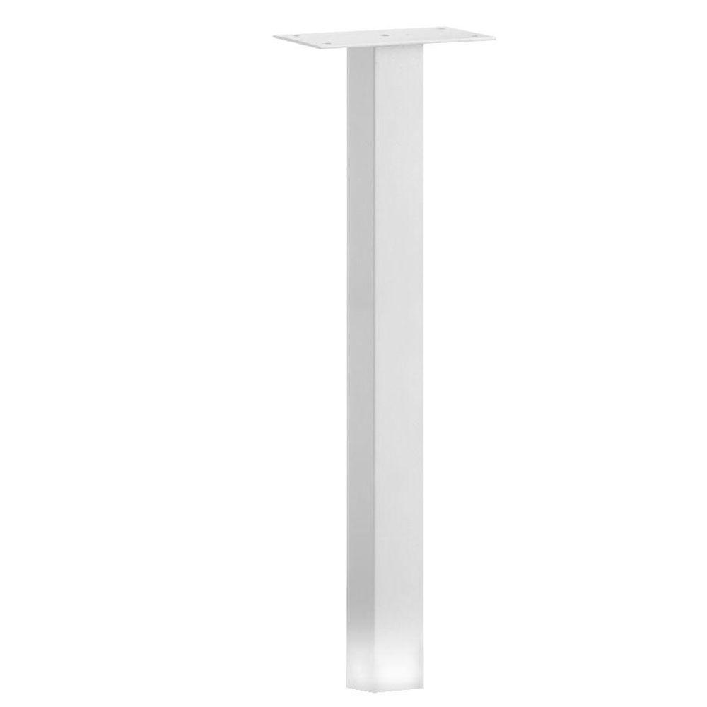 Salsbury Industries Standard In-Ground Mounted Mailbox Post in White