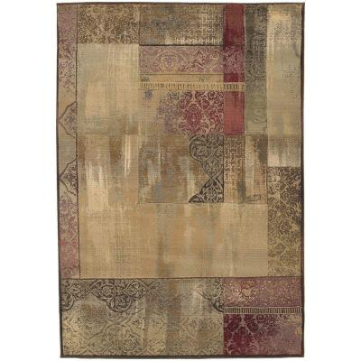 New Country Beige/Sage 8 ft. x 11 ft. Area Rug