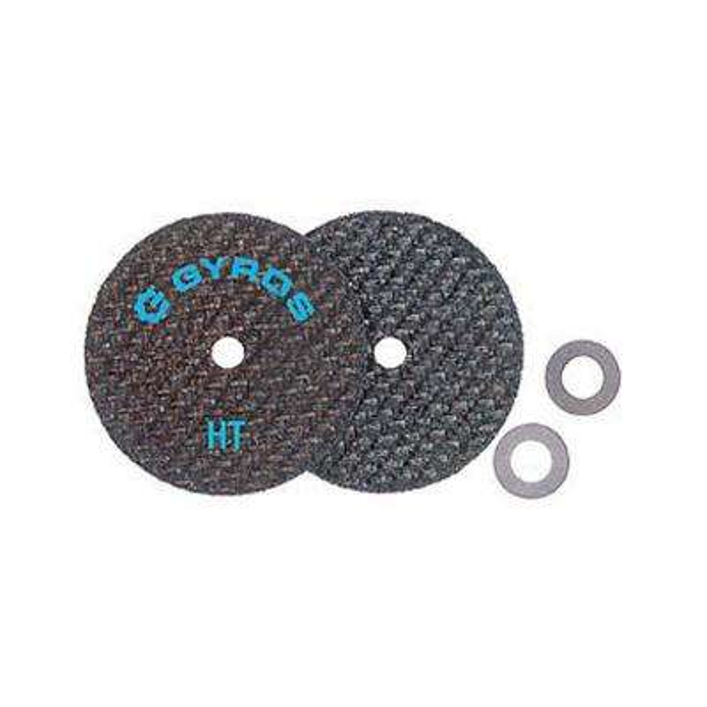 Fiber Disks HT 2-1/2 in. Diameter Reinforced Cut Off Wheels (Set of 2)