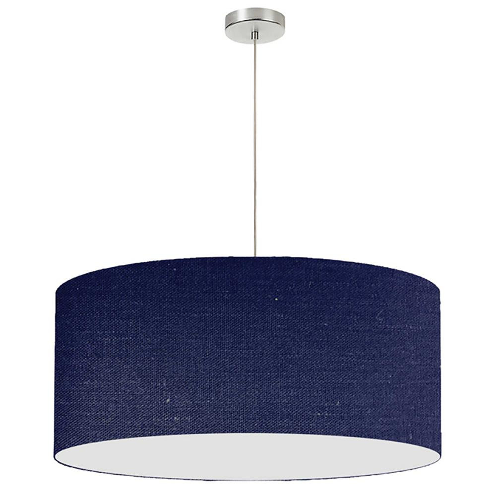 Filament Design 1-Light Navy-Blue Pendant With