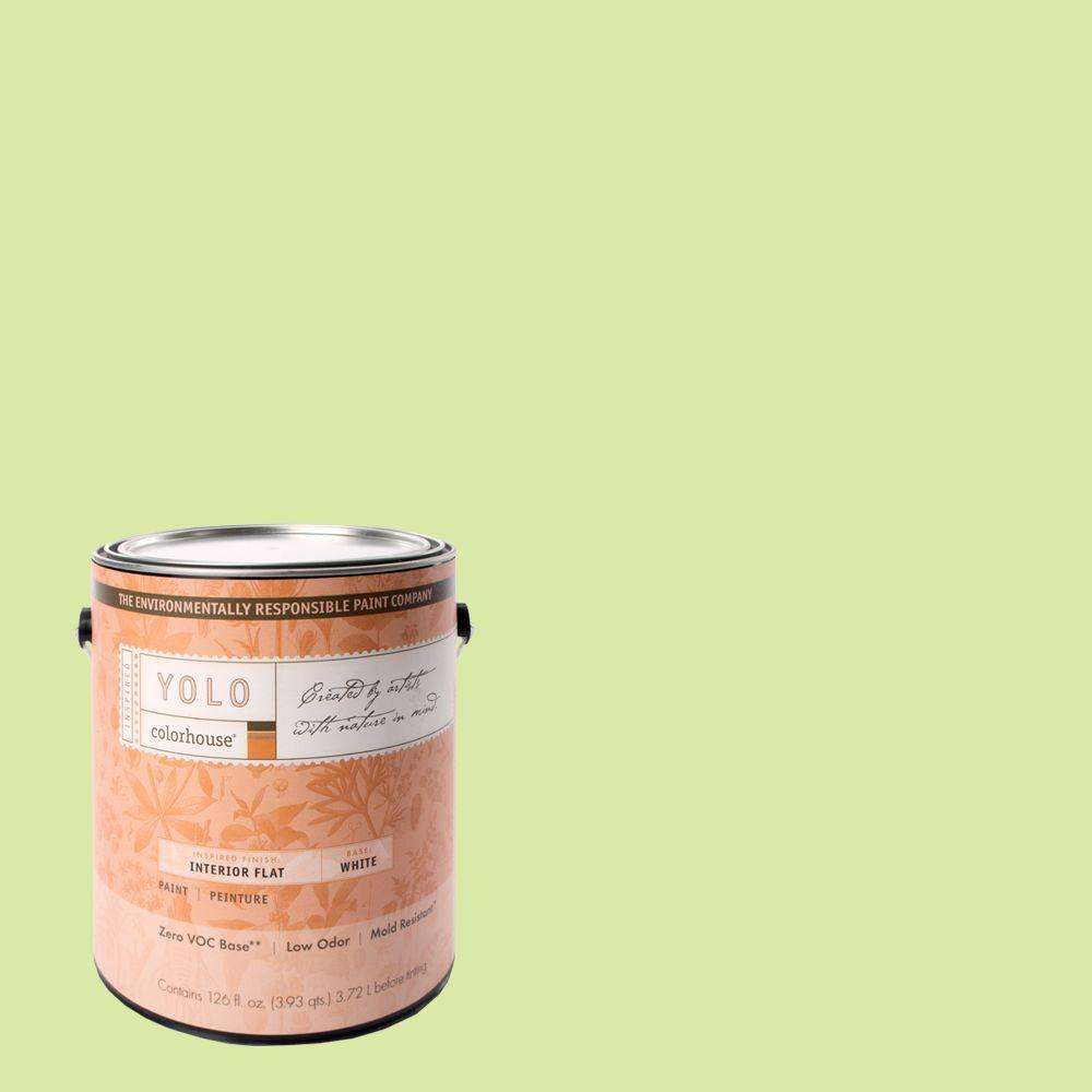 YOLO Colorhouse 1-gal. Sprout .05 Flat Interior Paint-DISCONTINUED