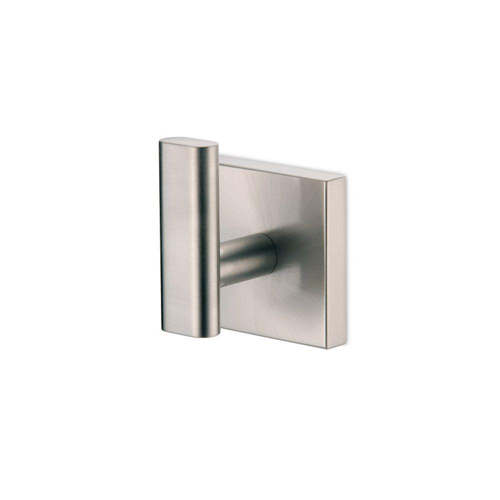 Elevate Single Robe Hook in Satin Nickel