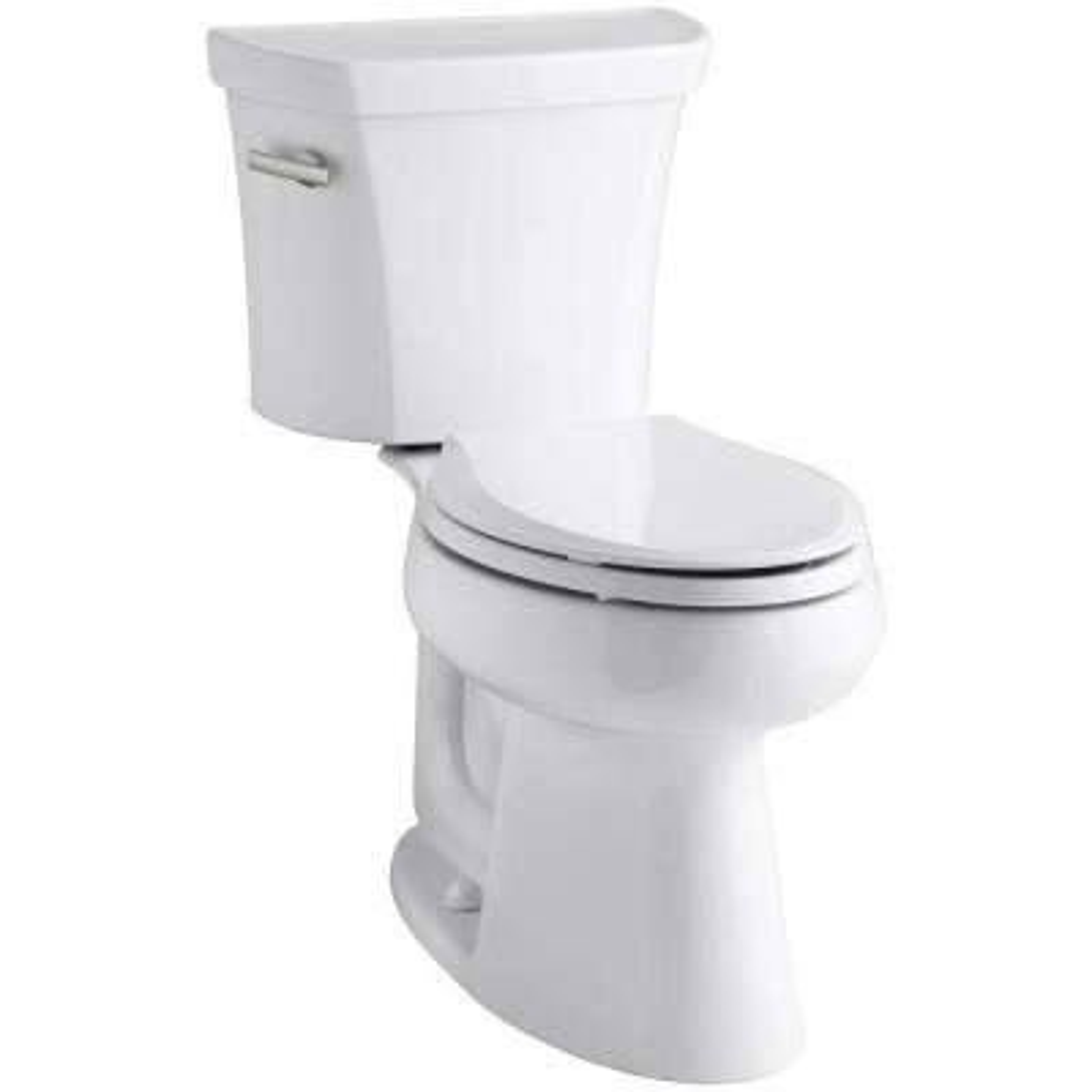 Highline 2-piece 1.6 GPF Single Flush Elongated Toilet in White