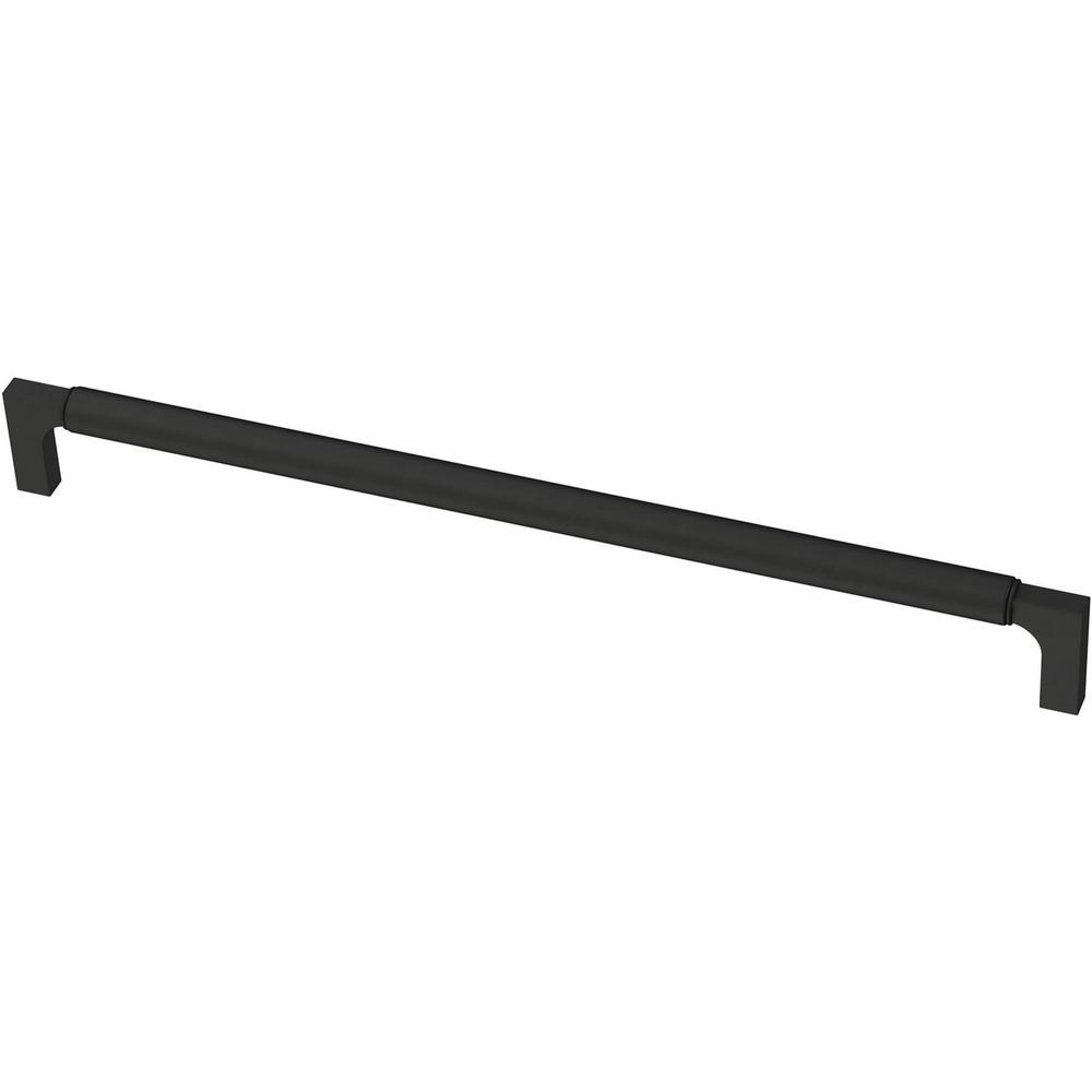 Artesia 11-5/16 in. (288 mm) Matte Black Drawer Pull