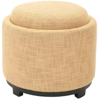 Chelsea Gold Accent Ottoman
