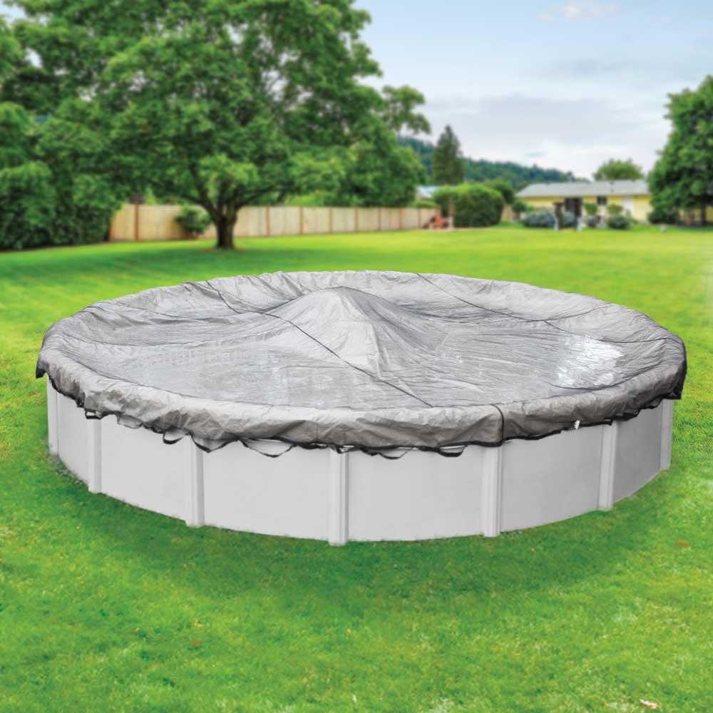 Robelle Standard 33 Ft Pool Size Round Winter Above Ground Leaf Net 4433 The Home Depot