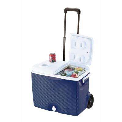 45 Qt. Blue Wheeled Cooler