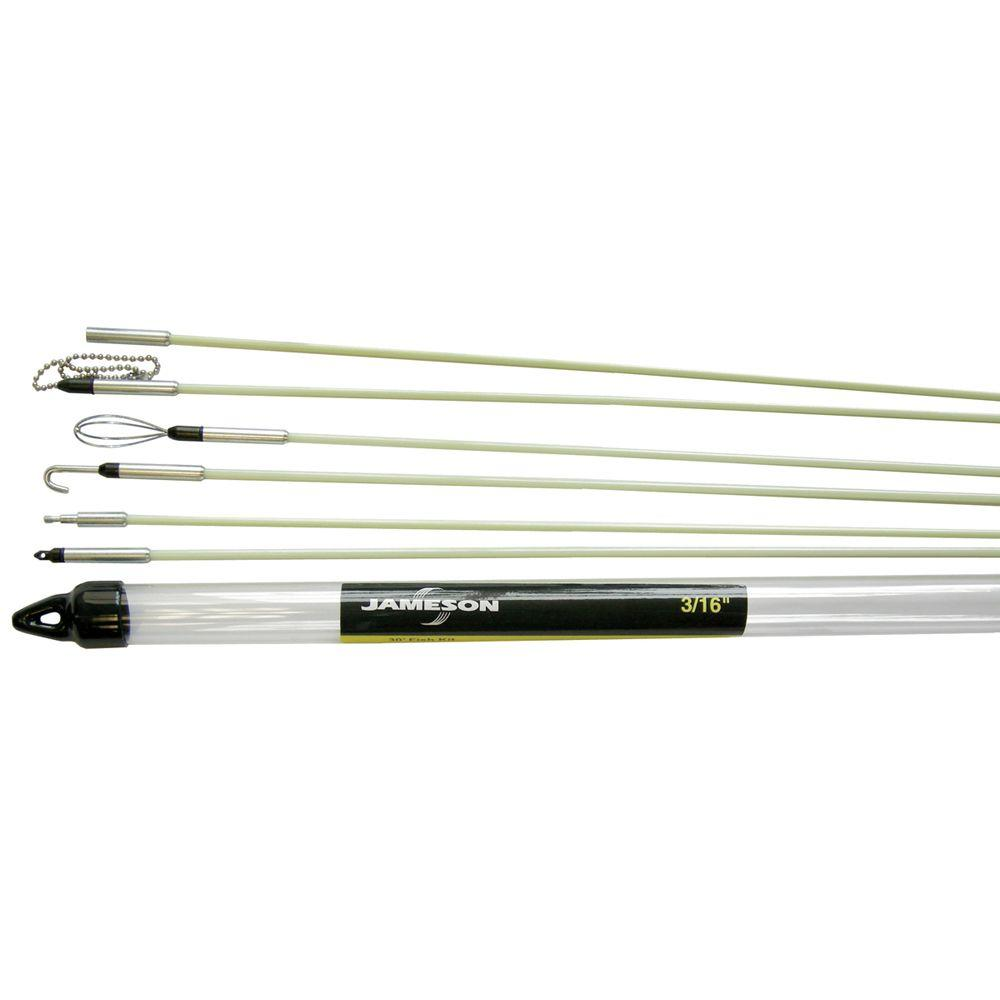 30 ft. Glow Fish Rod Kit