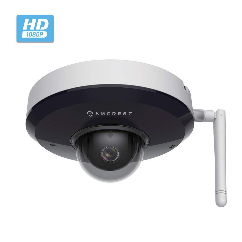 1080P ProHD Wireless Outdoor Vandal Dome IP PTZ Camera, IP66 Weatherproof, IK08 Vandal-Proof, 3X Optical Zoom