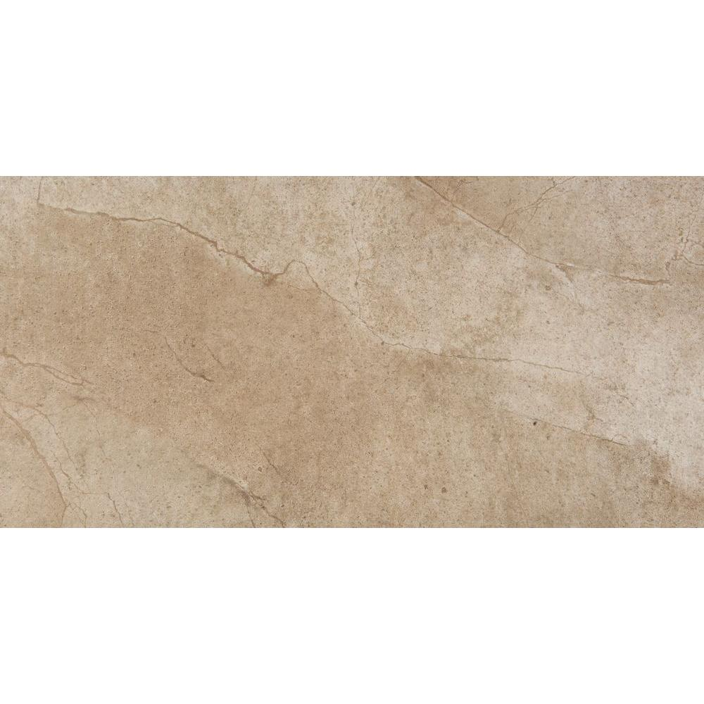 null Boca Ash 12 in. x 24 in. Porcelain Floor and Wall Tile (11.58 sq. ft. / case)
