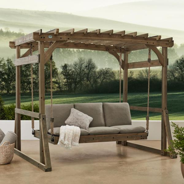 Backyard Discovery Claremont Lounger, Patio Swing Home Depot