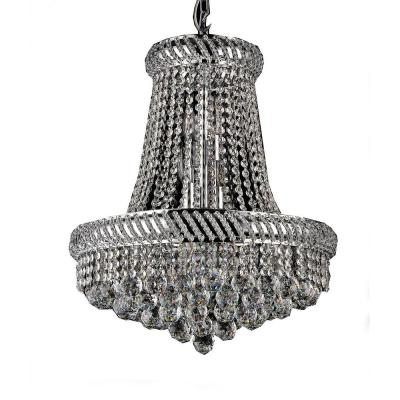 Chelsea 8-Light Chrome Indoor Crystal Chandelier