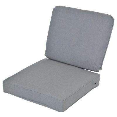 Spa 2-Piece Deep Seating Outdoor Lounge Chair Cushion (2-Pack)