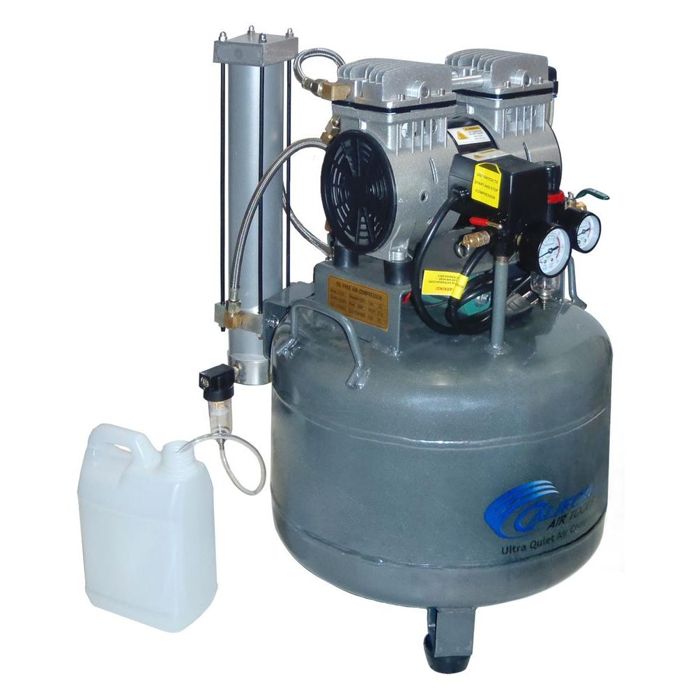 California Air Tools 9 Gal. 1 HP Ultra Quiet and Oil-Free Air Compressor with Air Dryer