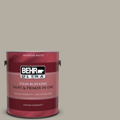 1 gal. #PPU18-13 Perfect Taupe Matte Interior Paint and Primer in One