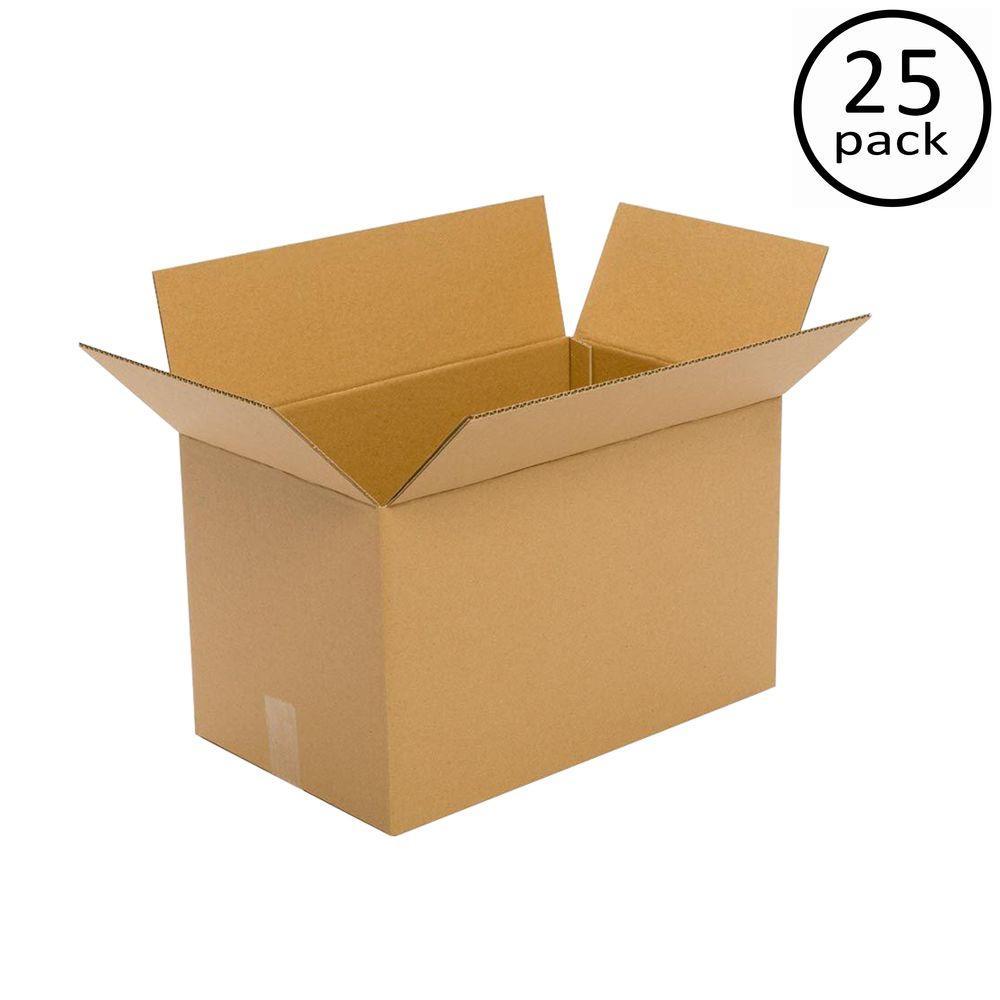 Plain Brown Box 20 in. x 8 in. x 8 in. 25-Box Bundle