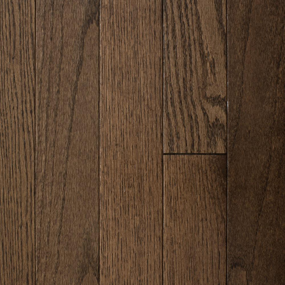 Blue Ridge Hardwood Flooring Oak Bourbon 3/4 in. Thick x 3 in. Wide x Random Length Solid Hardwood Flooring (18 sq. ft. / case)
