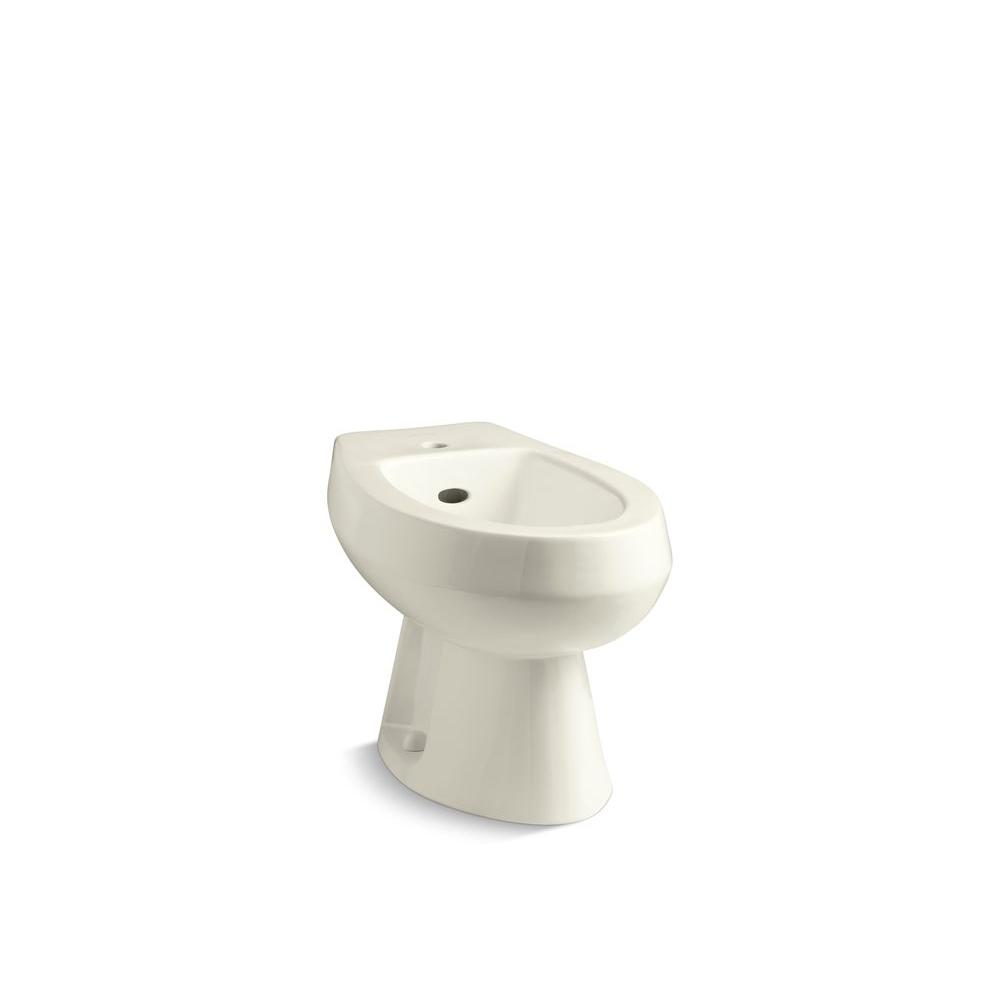 Amaretto Elongated Bidet in Biscuit