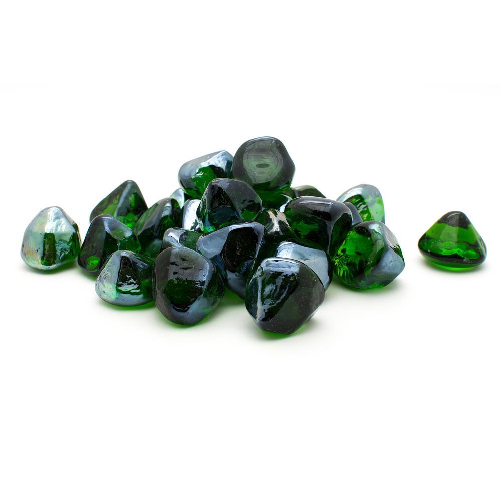 10 lb. Green Diamond Decorative Glass