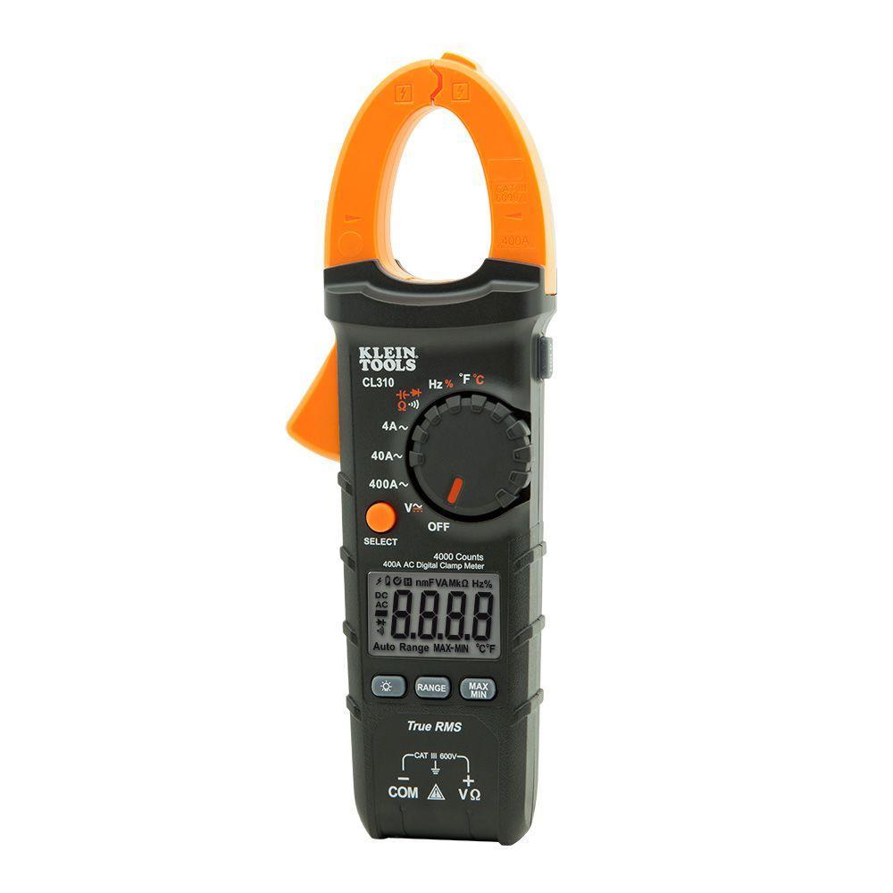 True Rms Meter : Klein tools amp ac true rms auto ranging digital clamp