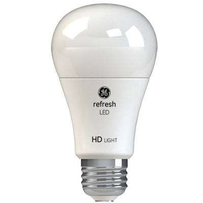 60W Equivalent Daylight (5,000K) High Definition A19 Dimmable LED Light Bulb (2-Pack)