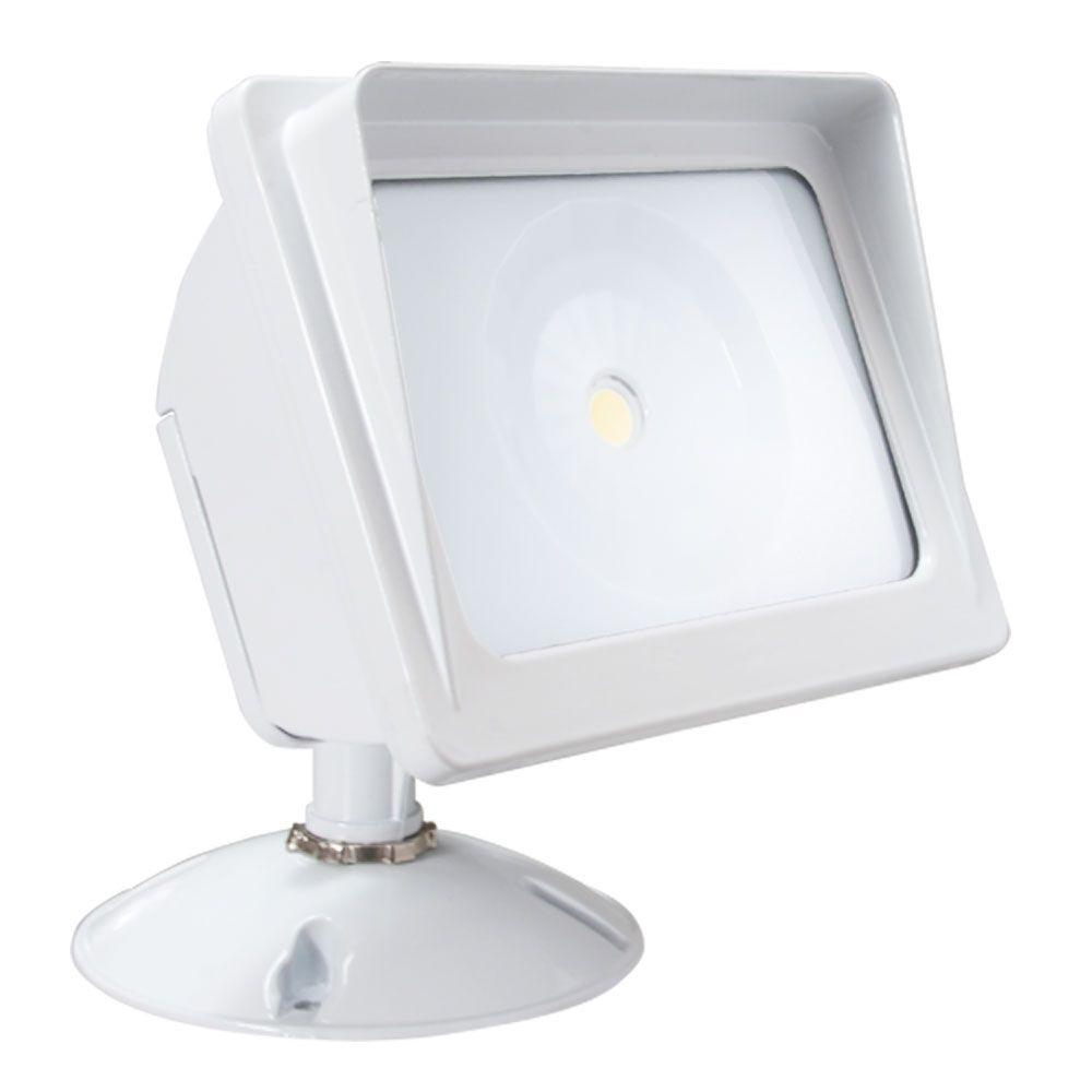 Irradiant White Led Outdoor Wall Mount Flood Light