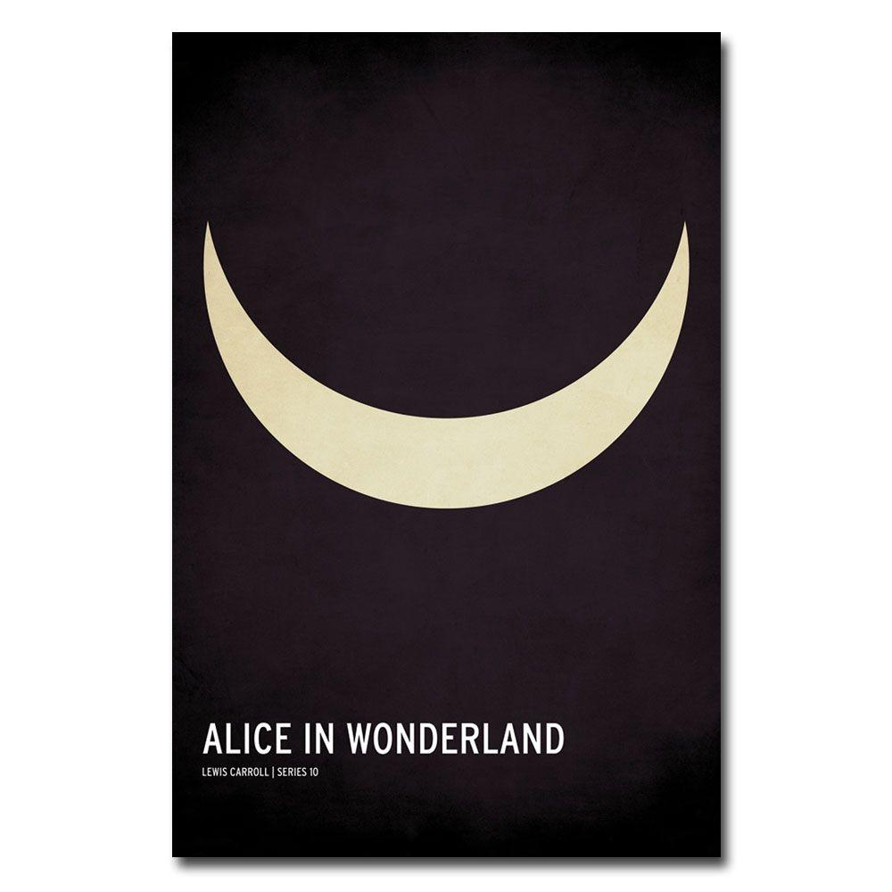 30 in. x 47 in. Alice in Wonderland Canvas Art