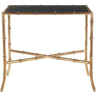 Chandler Black and Gold End Table