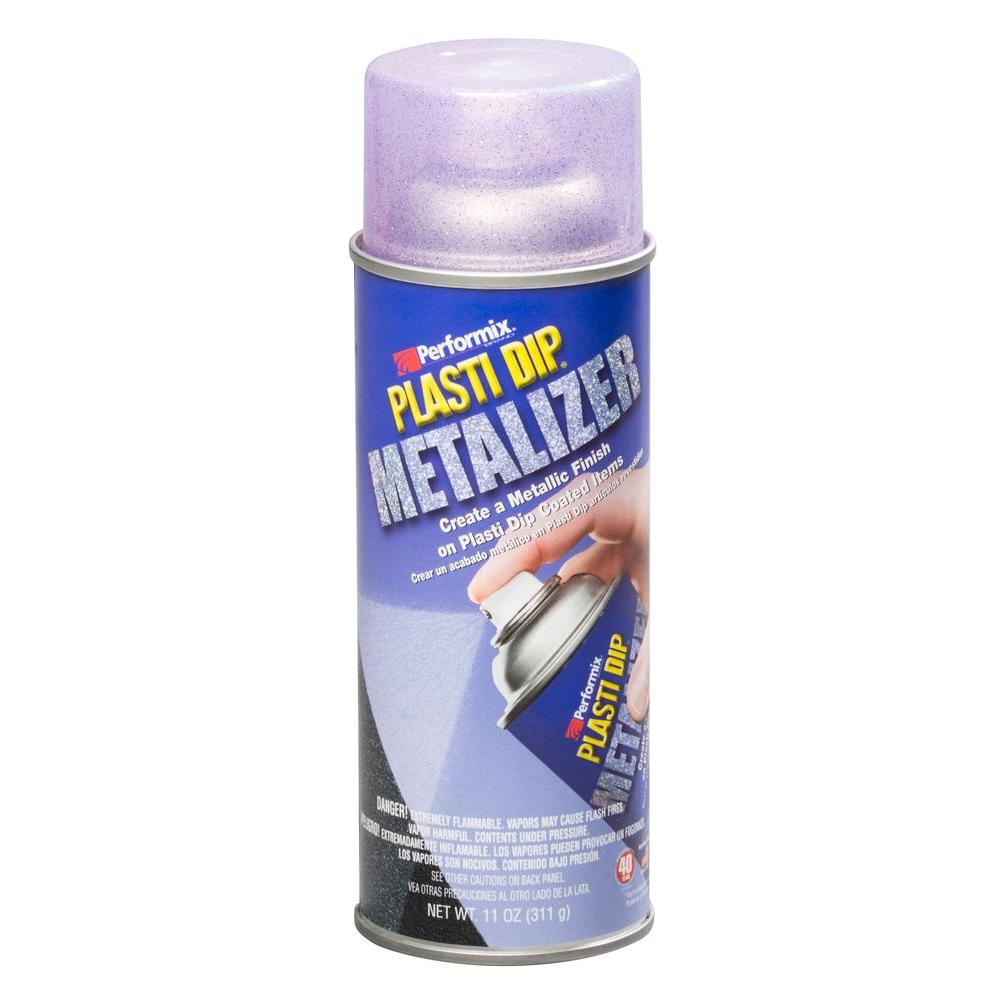 Plasti Dip 11 Oz Violet Metalizer 11244 6 The Home Depot