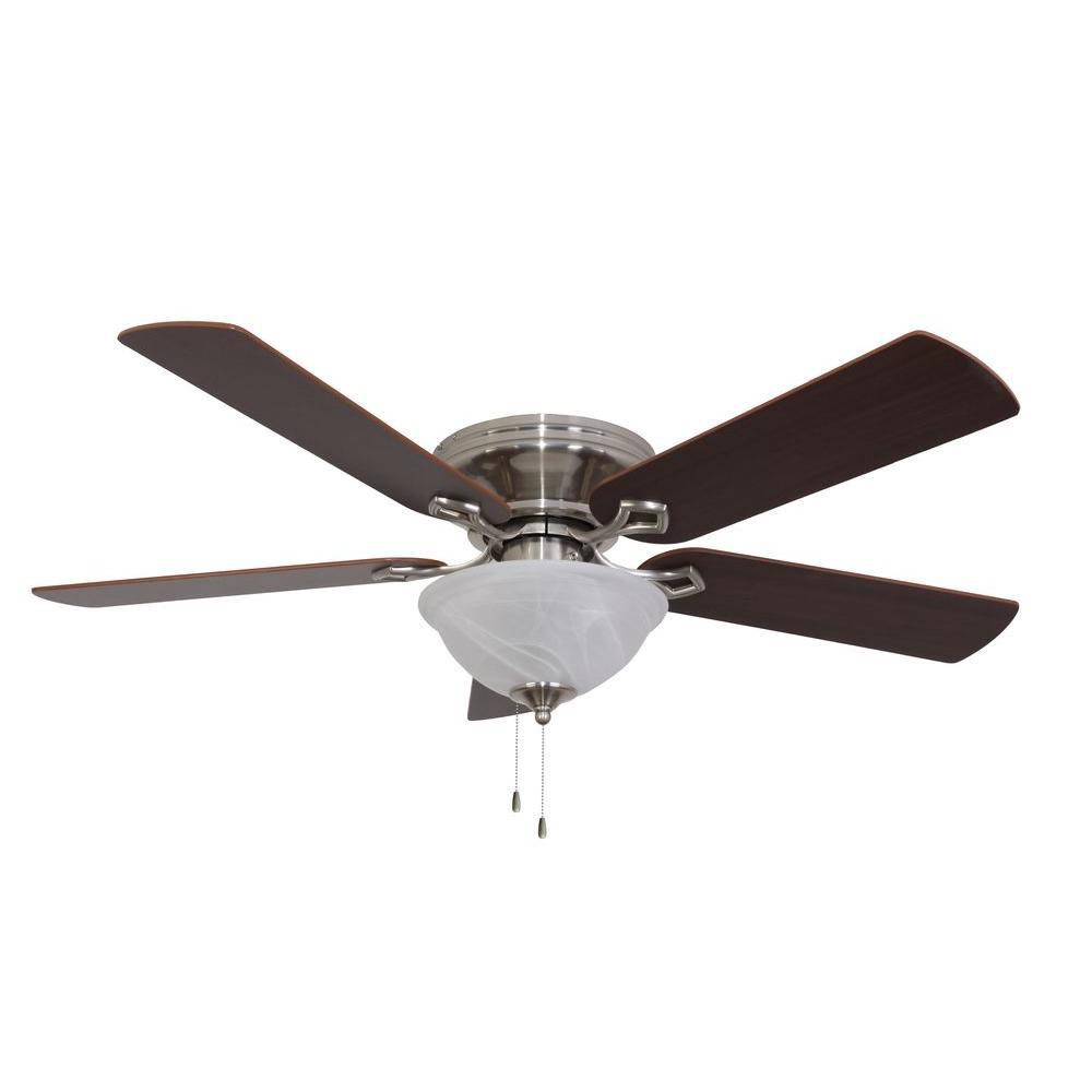 Bennington 52 in. Brushed Nickel Ceiling Fan