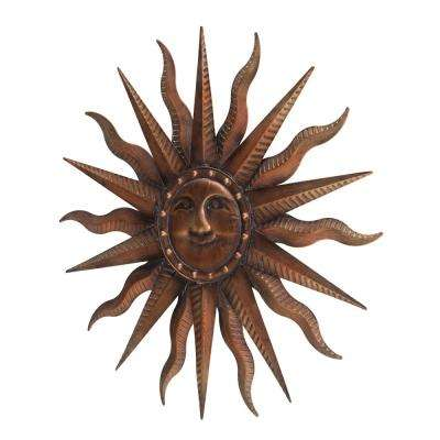 Brittany Decorative Solid Flares Sun Wall Art