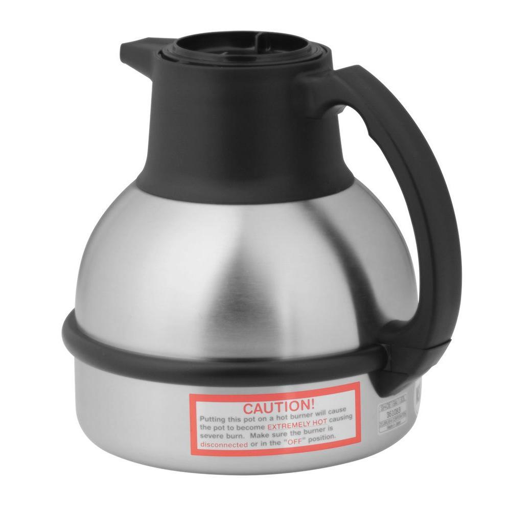 64 oz. Thermal Regular Coffee in Black