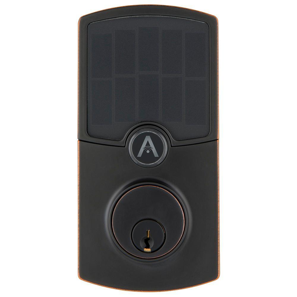 Array by Hampton Cooper Tuscan Bronze WiFi Smart Electronic Deadbolt