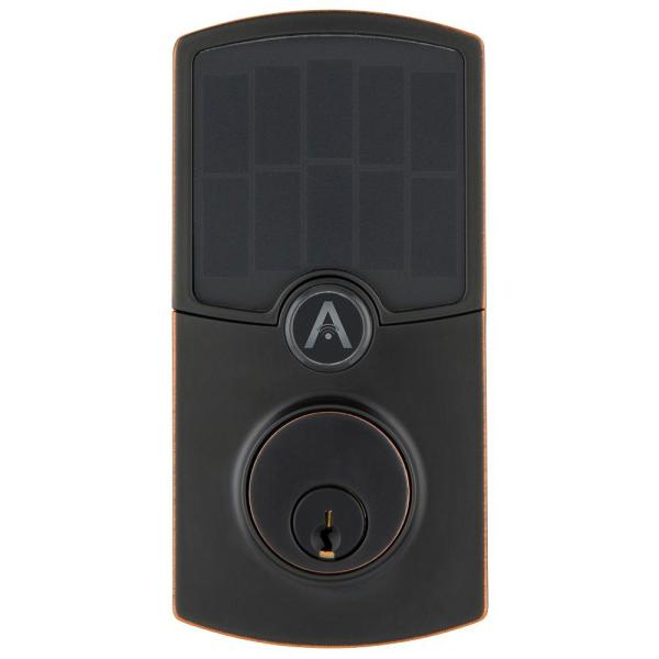 Cooper Tuscan Bronze WiFi Smart Electronic Deadbolt
